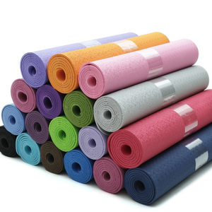 6mm 8mm Thickness Eco-friendly Anti-slip Waterproof TPE Yoga Mat