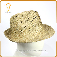 Most popular products outdoor paper material men fashion fedora hat