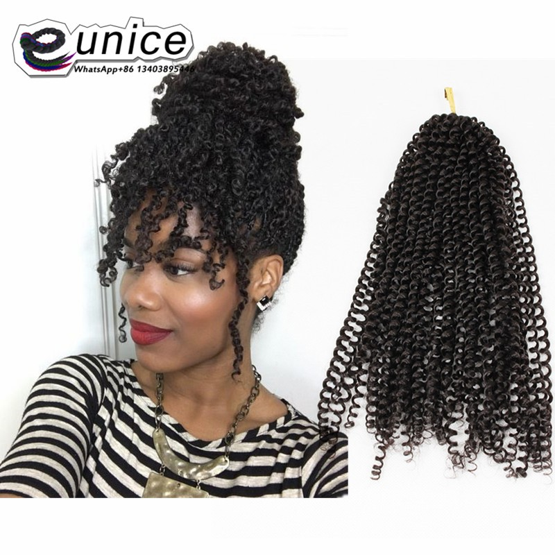 Curly Weave Synthetic Braiding Hair Afro Kinky Curly Hair Bundles