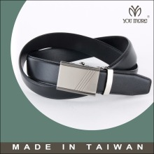 Slide belts mens classic ratchet leather belts