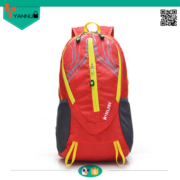 portable comfortable waterproof folding lightweight backpack contracted travel bag wholesale