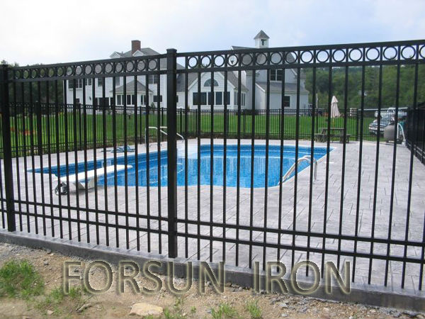 Top Sell Wrought Iron Pool Fence