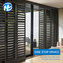 make aluminum fixed louvre windows security fixed window shutters for hotel