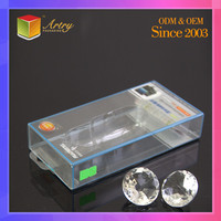 Folding Rectangular Plastic cell phone Accessories Retail Packaging Display USB Cable packing box
