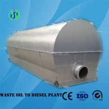 Continuous black oil recycling machine with CE ISO