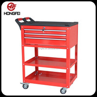 Metal/iron/steel medical cart with drawers Tool storage box