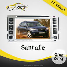 China factory (mainland) for navigation system hyundai santa fe 2012 with USB SD CARD TV