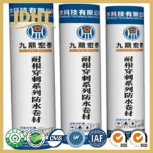 JD-231 SBS Root puncture resistancewaterproof material used for planted roof factory
