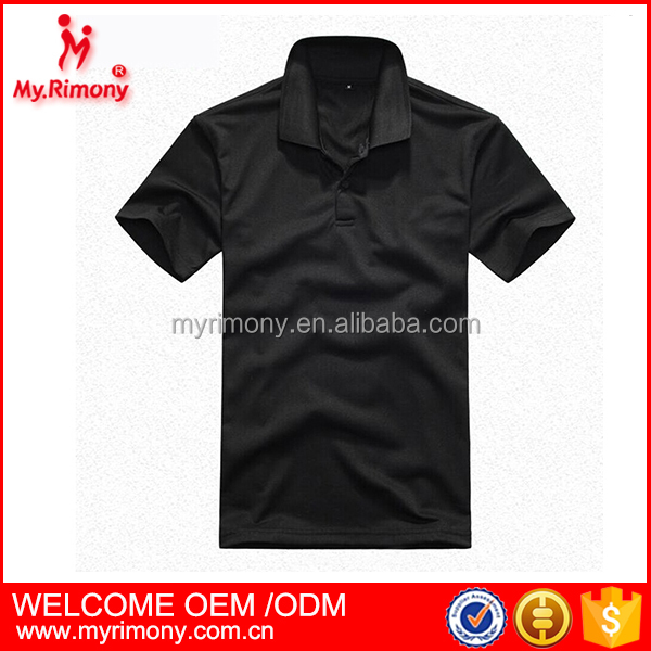 best price black and red tshirt 200 gsm polo t-shirt custom logo