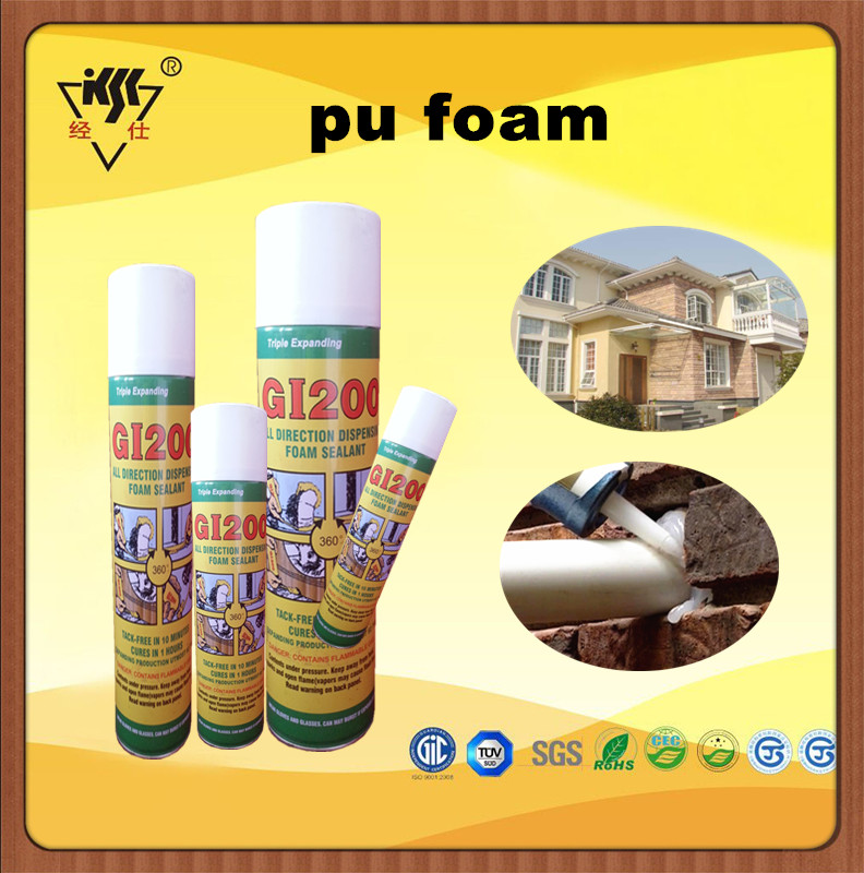 Best Selling Sealling and Bonding Duct Pu Foam Sealant
