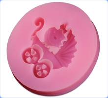 Chinese supplier baby carrier shape silicone cake cupcake baking molds