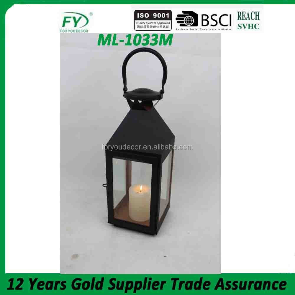 ML-1033M hand outdoor light wholesale decorative metal lanterns