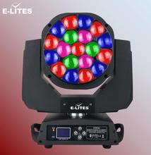 led stage lighting supplie 19x15w bee eye zoom function, moving head night club lighting