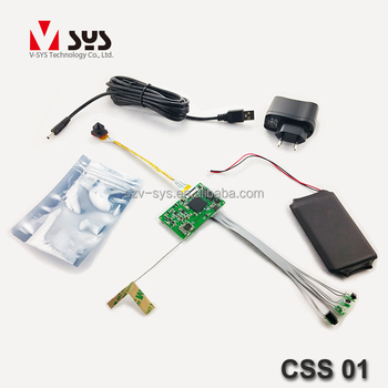 Vsys official CSS01 P2P 3G/4G mini real 1080P Wi-Fi hidden camera DVR PCBA support 30 days recording time