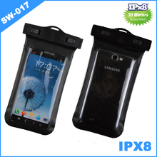 Cooskin New product mobile phone accessory PVC waterproof pouch for iPhone 6/plus bag