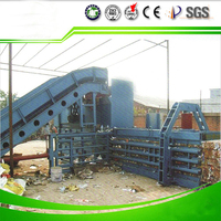 horizontal automatic baler use for hard solid waste or soft solid waste