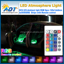 12V Car Auto Interior LED Atmosphere Lights Decoration Lamp For volkswagen for ford for toyota for bmw e46 for opel for skoda