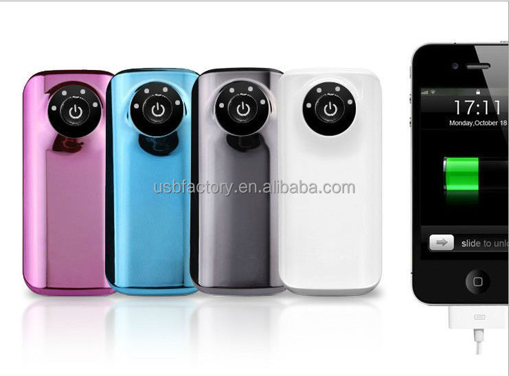 Factory directly deal with cheap universal power bank 5600mah