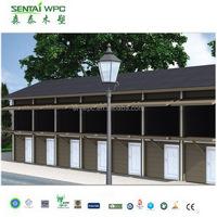 Windproof environmental engineered prefabricated wooden house price