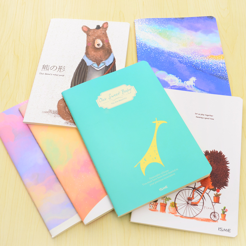 MN042 China factory pocket coil notebook,paper pocket notebook,notebook with pocket for phone