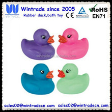 Multicolor rubber toy wholesale soft pvc toy ducks