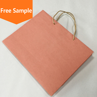 Hot sale wholesale recycled logo printing cheap brown kraft paper bag
