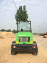 1.6 tons Contruction machinery loader with CE/mini loader 1.5ton loader