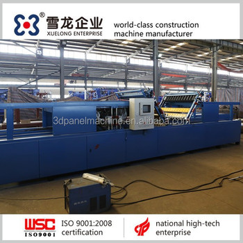 eps 3d wall panel machine producer