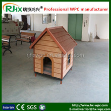 Wood plastic composite for Pet house