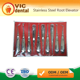 2017 Best Sales Dental Stainless Steel Root Elevator (10pcs set)