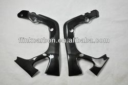carbon fiber frame cover for CBR600RR 07-09