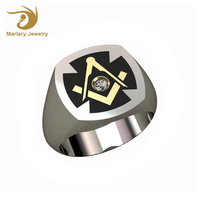 China Wholesale Jewelry Ring, Cheap Antique Stainless Steel Championship Masonic Ring For Men