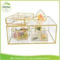 invitation card display holder / small guests gifts Floral Bouquet arrangements// wedding centerpiece DIY vintage glass vase pot