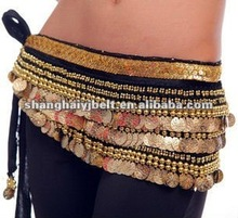 lady belly dance chain handmade beaded chain belt