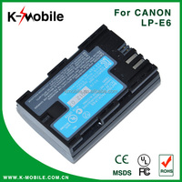 Digital Camera and Camcorder Battery Pack for canon LP-E6