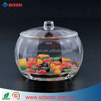 Single Compartment Acrylic Candy Bin Candy Box Sweets Bin Biscuit Display