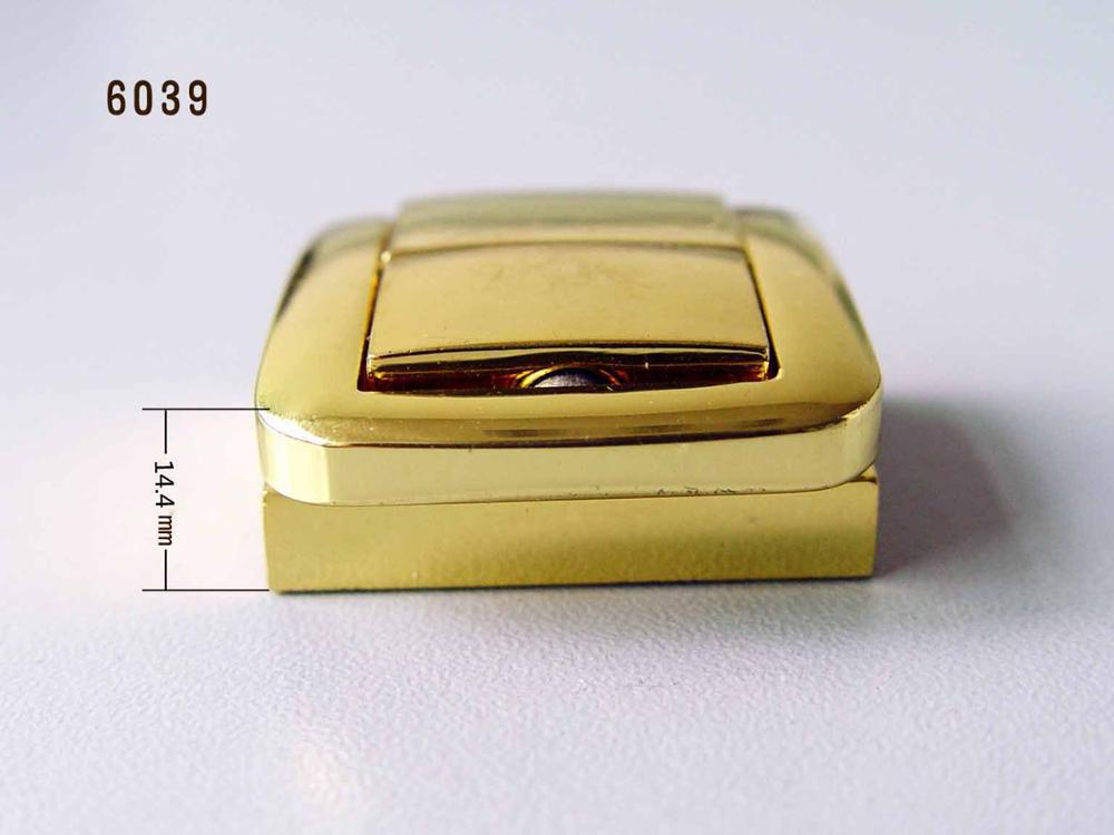 High End Quality Golden Small Jewelry Box Locks