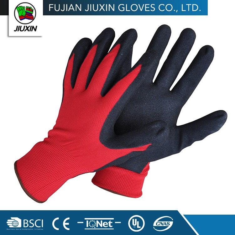 Industrial Polyester Custom-Made Protection Electrical Safety Gloves