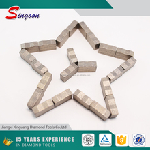 Free sample Diamond grinding segment cutting tool for core drill bit