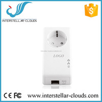 Home Plug 500Mbps Wallmount Powerline Network Adapter