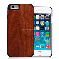 2015 Original Mobile Phone Cover Case Wood+PC wood case for iphone 5 china price