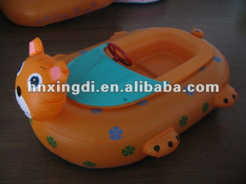 Funny Inflatable Water Bumper Boat for Kids