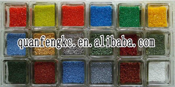 Color sand for sandbox play areas