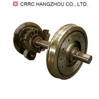 Press fitting Gearbox Wheel set CRRC for Train