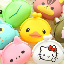 Promotional New Design Cute Mini Coin Purse Soft Side Buckle Female Coin Bag
