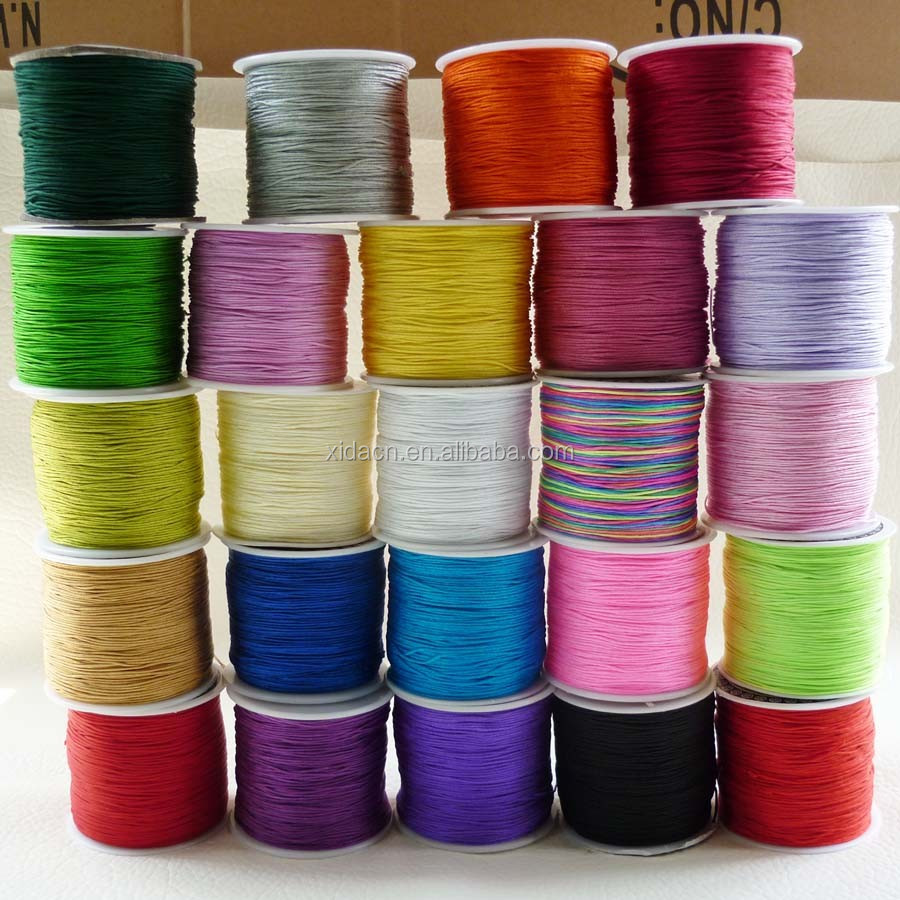 1mm 100 yards many colors Cord Nylon Thread Wholesale