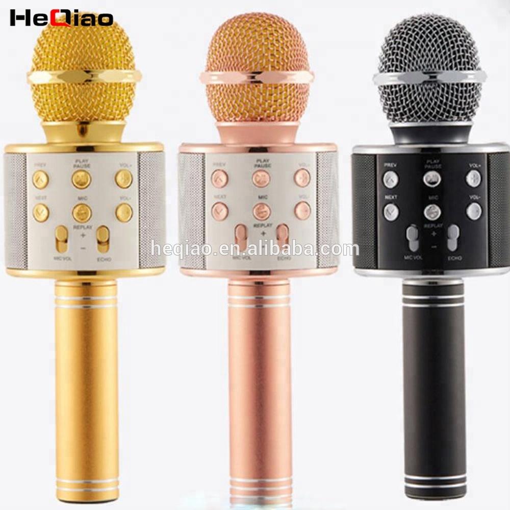 Accueil KTV Sans Fil Karaoké Microphone Sans Fil Portable De Poche KARAOKÉ Microphone Pour partie à la maison en plein air - ANKUX Tech Co., Ltd