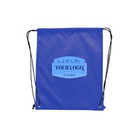 Custom Printed Promotional Cool Football Drawstring Backpack