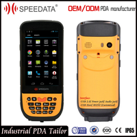 Buy Hand Held PDA Terminal Device Android Barcode Scanner Holder with 1D 2D Honeywell or Symbol Qr Bar Code Scanner Module