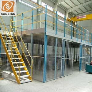 Multi-Level Warehouse Storage Mezzanine Storage Metal Rack